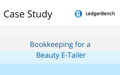 Bookkeeping for a Beauty E-Tailer