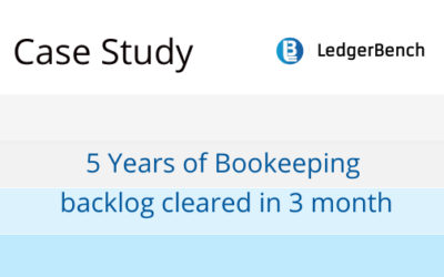A 5 Year Bookkeeping Lag Cleared In 3 Months!