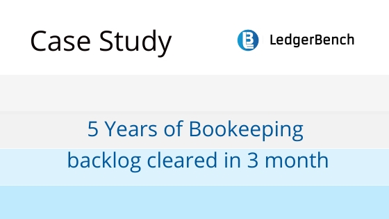 5 years of Bookkeeping