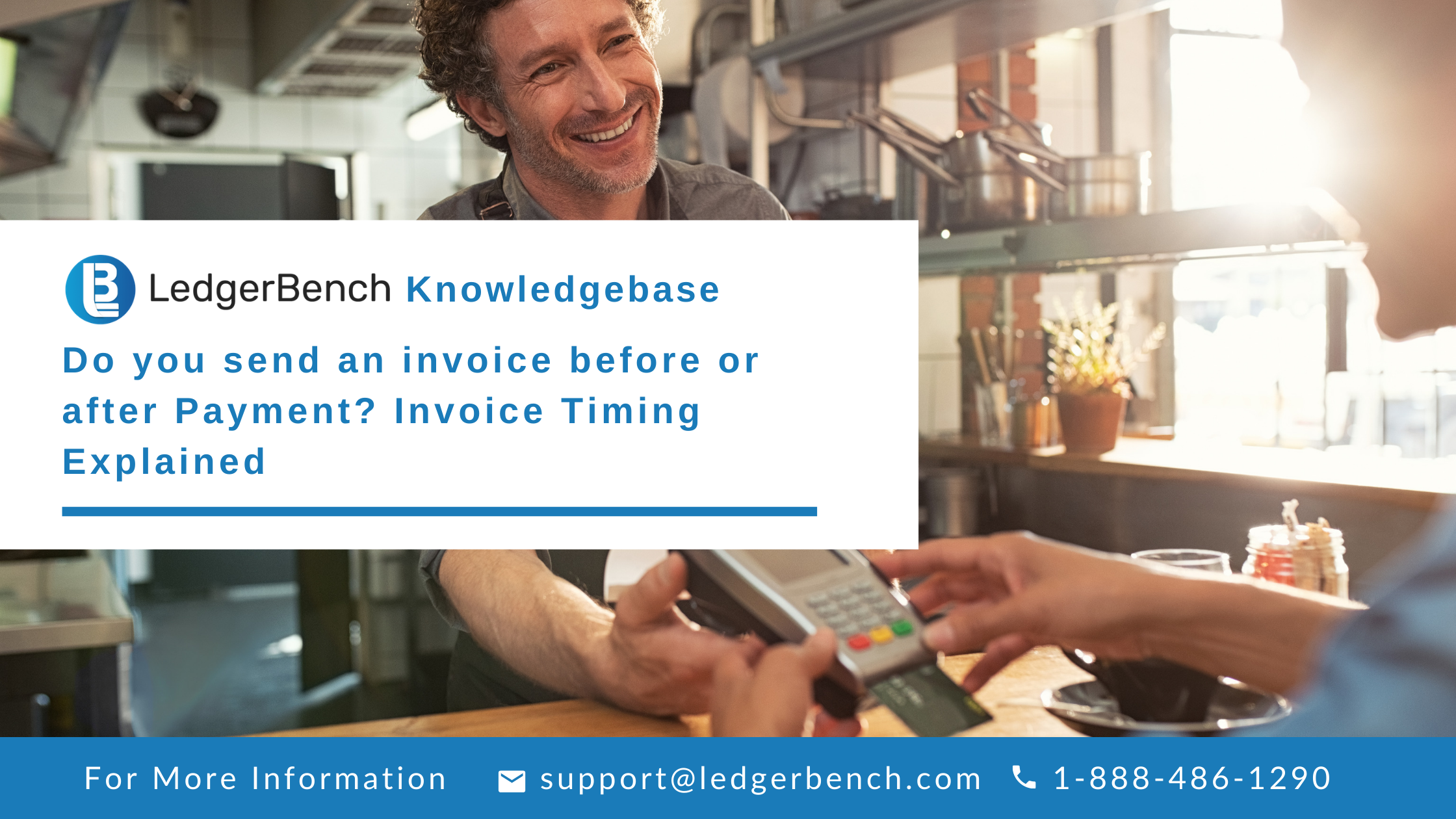 Do you send an invoice before or after Payment? Invoice Timing Explained