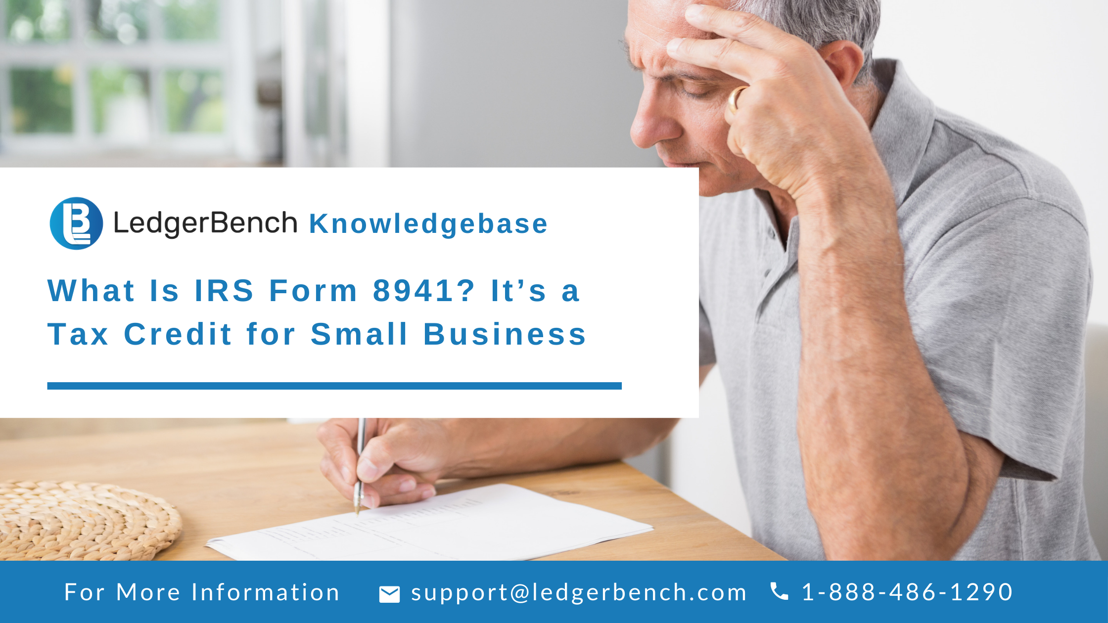 What Is IRS Form 8941? It's a Tax Credit for Small Business