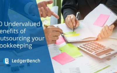 10 Undervalued Benefits of Outsourcing your Bookkeeping